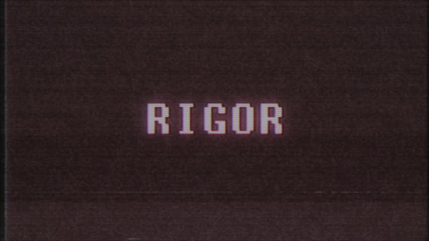 Header of rigor
