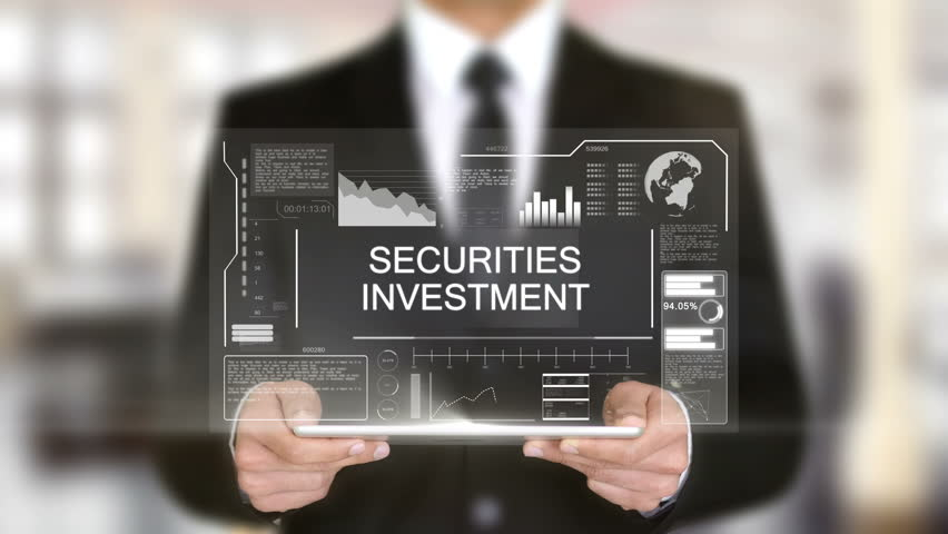 Securities Investment, Businessman with Hologram concept | Shutterstock HD Video #1011267437