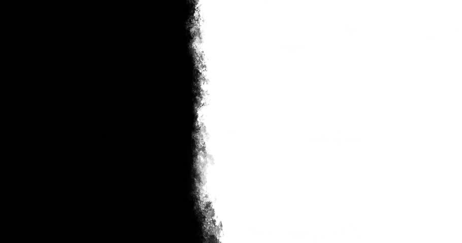 Animated loop able abstract background with hand painted vertical art brush strokes. Black and white for custom use.