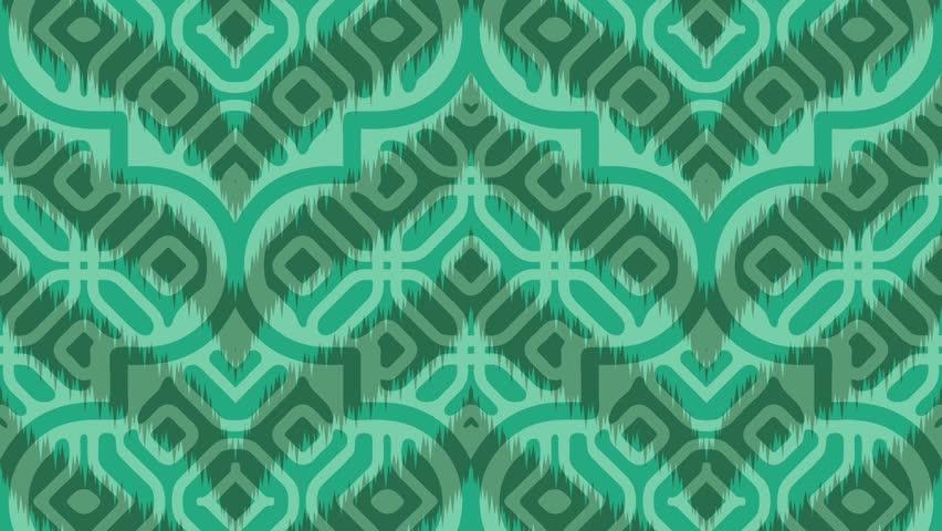 Wavey Jade Moroccan Rug Pattern