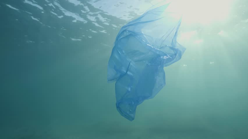 Plastic in the Ocean and Sea | Shutterstock HD Video #1012010327