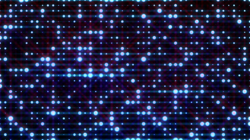 US Map Glitter Light Background Seamless Looping Stock Footage - Us light map