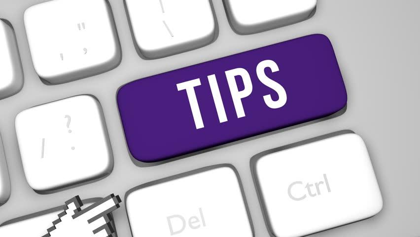 Tips keyboard key | Shutterstock HD Video #1012160507