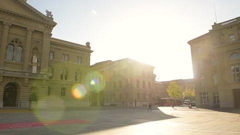 Federal Palace of Bern , Switzerland