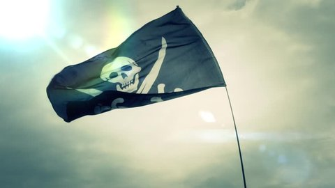 Pirates Jolly Roger Flag