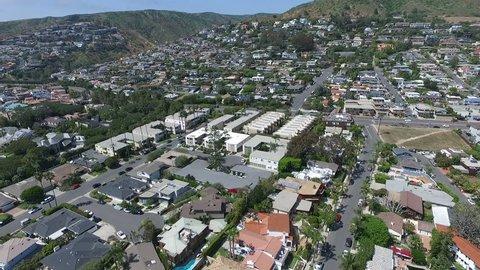 Laguna Beach Orange County California Coastline Residential Aerial