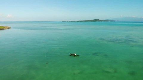 Traditional Canoe Drone Samoa