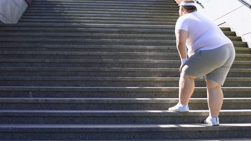 Image result for obese men walking