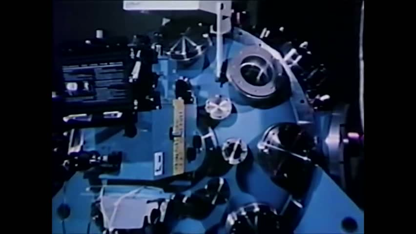 CIRCA 1970s - Assistant Administrator of the US Energy Research and Development Administration Dr. Robert J. Hirsch speaks. | Shutterstock HD Video #1013537957