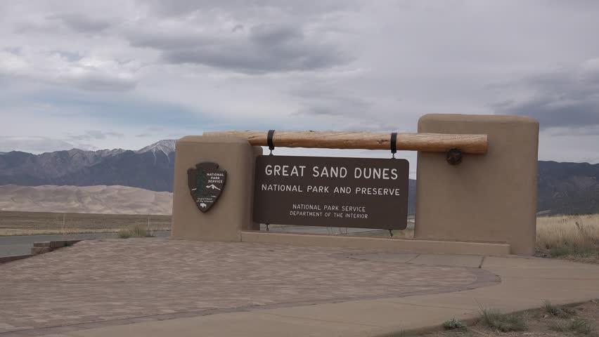 Great Sand Dunes National park. COLORADO. USA