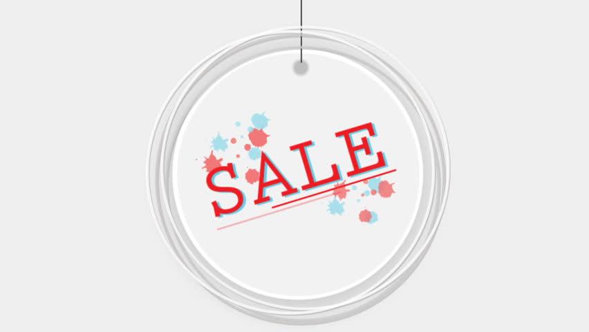 Circle sign sale | Shutterstock HD Video #1013580917
