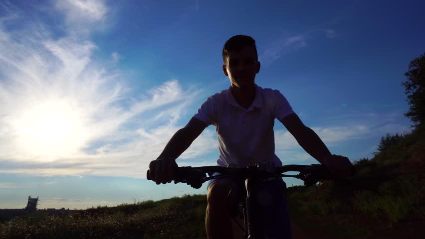 Bike sport mountain bike ride | Shutterstock HD Video #1013666987