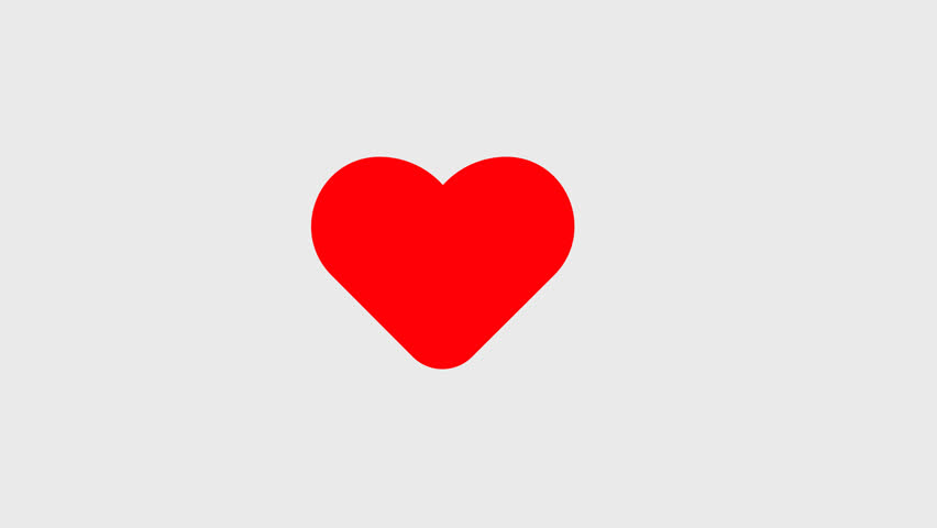 Red Heart 2d Animation, Video Stock Footage Video (100% Royalty-free)  1013686217 | Shutterstock