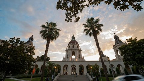 Spanish Colonial Revival Architecture Stock Video Footage 4k And
