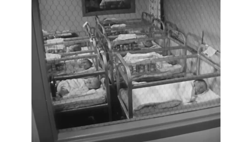 CIRCA 1950s - When babies are born in the US, they are equal by law, but not in terms of social class. .