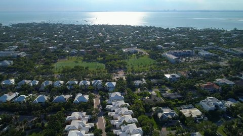 Aerial Village Green Park Key Biscayne