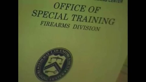 CIRCA 1990s - Different types of curriculums offered at the Federal Law Enforcement's Firearms Division are described in 1998.