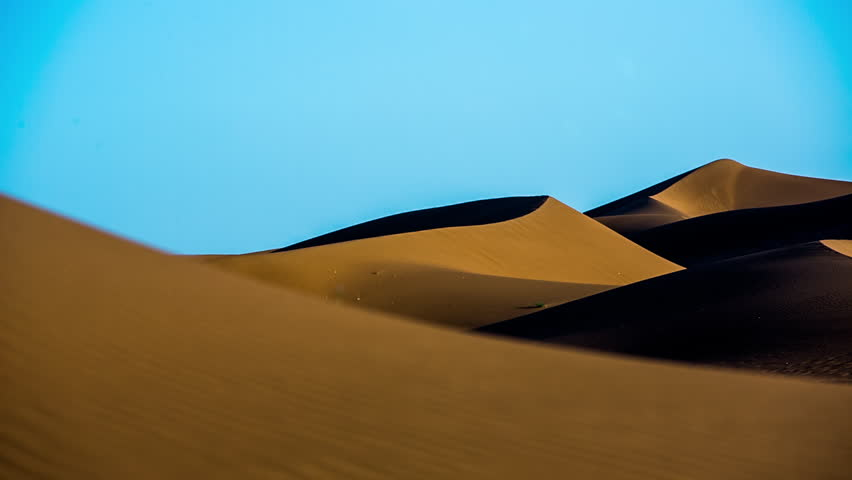 The amazing Erg chebbi dunes in the sahara desert, morocco | Shutterstock HD Video #10140017