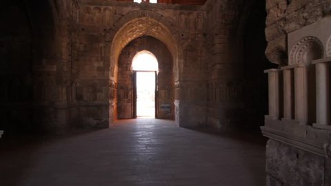 Umayyad Palace in Amman,Jordan