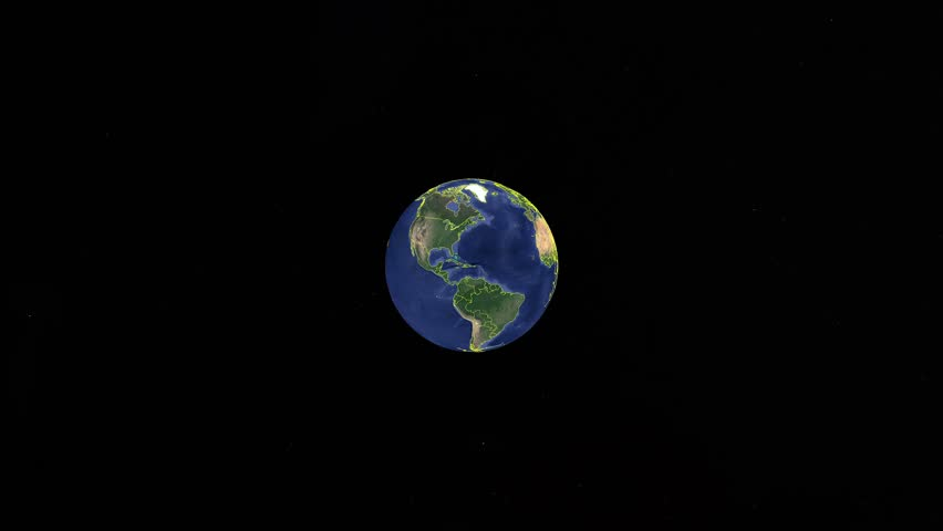 Sweden with flag. 3d earth in space - zoom in Sweden outer, created using ultra high res NASA