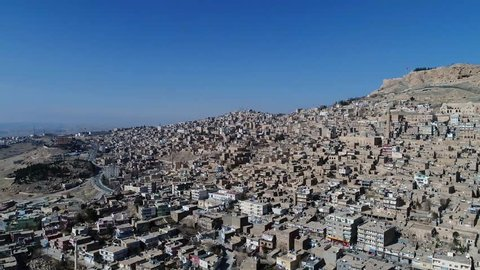 Mardin City view in Turkey