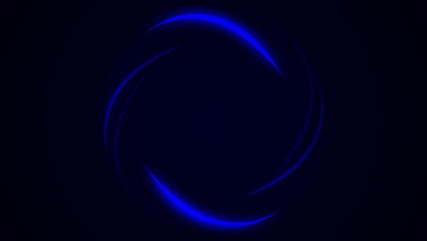 Abstract rotation angel wings ring background,turbine tunnel circle hole,round gear,fiber optic eye. Rotating circles. Seamless loop