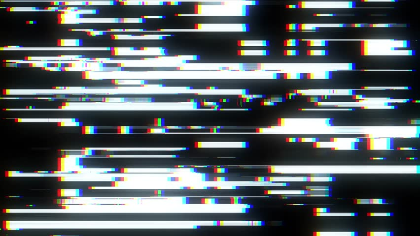 Fast glitch interference screen background for logo animation new quality digital twitch technology colorful video footage | Shutterstock HD Video #1015303267