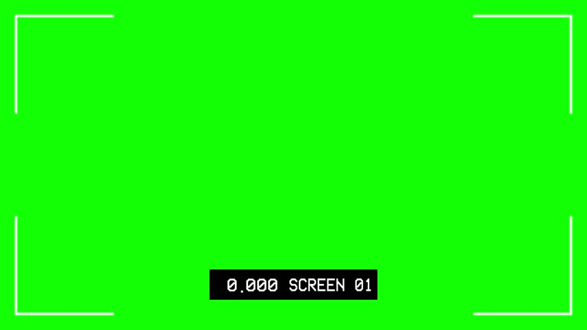 Thanos Home Green Screen Hd 60 Fps: Cctv Recording Screen With Timer Stock Footage Video (100