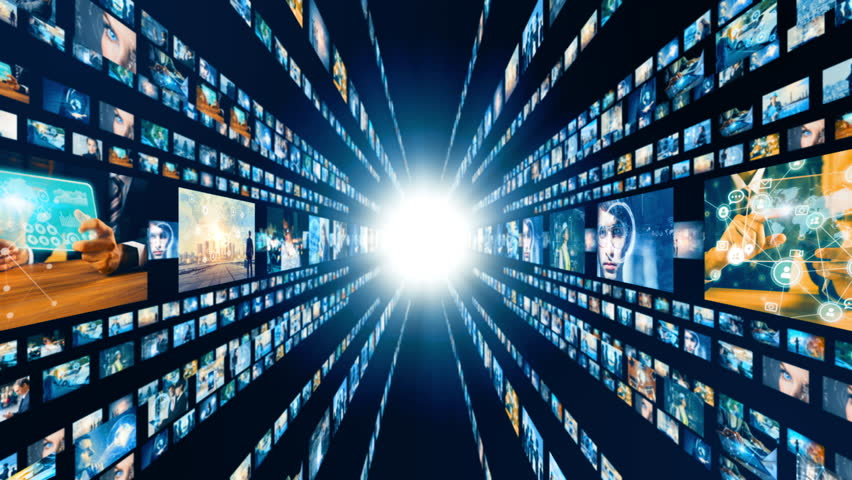 Visual archives concept. Social networking. | Shutterstock HD Video #1015667857