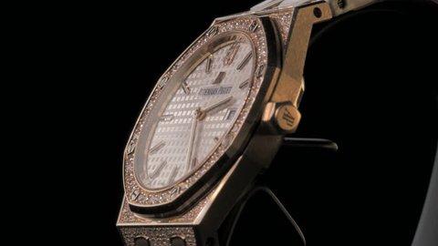 Hong Kong, China – May 10, 2017: Audemars Piguet, AP watch. Audemars Piguet is one of the world most renounced luxury watch brand.