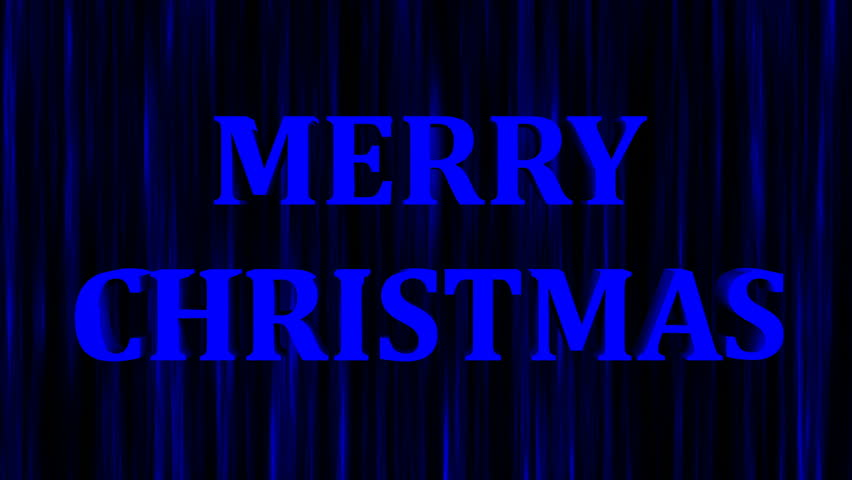 Merry christmas bright text and snowfall, 3d rendering background, computer generating for holidays festive design | Shutterstock HD Video #1015966117
