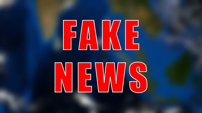 Letters of Fake news text on background with rotating earth, 3d rendering background, computer generating for news | Shutterstock HD Video #1016010667