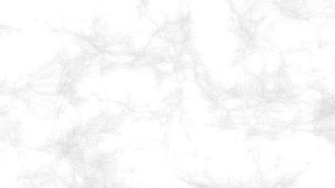 Loopable moving marbled. Pearl white with soft pale grey. Fractal abstract HD footage. Seamless patterned marble loop