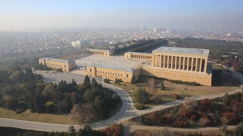 Anitkabir, memorial tomb, is the mausoleum of Mustafa Kemal Ataturk, the leader of the Turkish War of Independence and the founder and first President of the Republic of Turkey, located