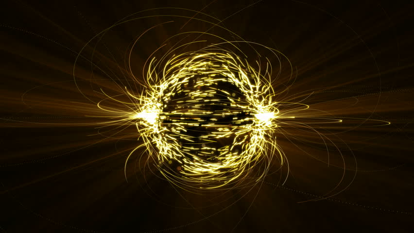 Gold abstract fractal atom or neuralink animation on black background. | Shutterstock HD Video #1016356327