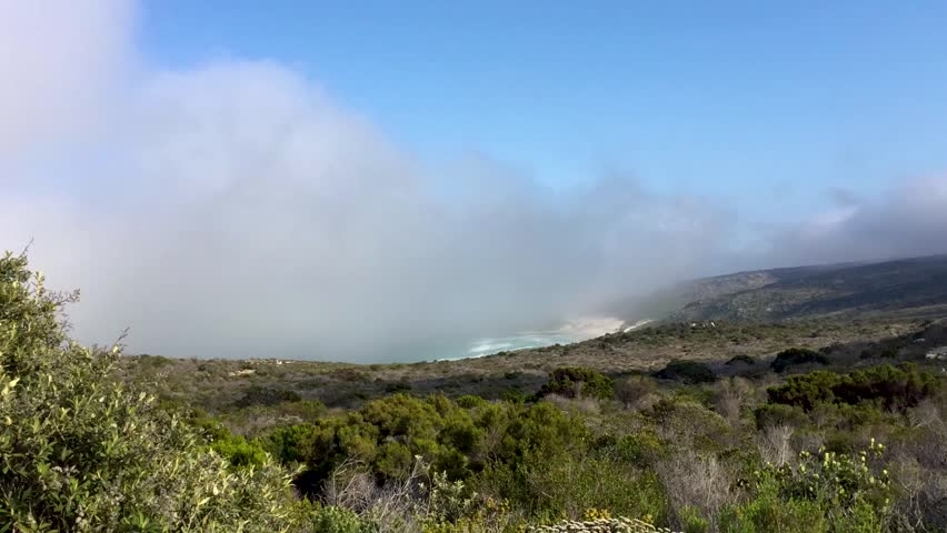 Clouds at Cape Peninsula, South Africa - Time Lapse | Shutterstock HD Video #1016443387