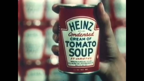 CIRCA 1950 - The distribution of Heinz products are explained with a 1951 animation.