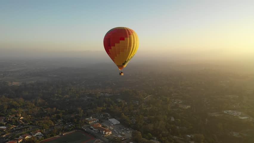 Hot Air Ballooning   Shutterstock HD Video #1016681317