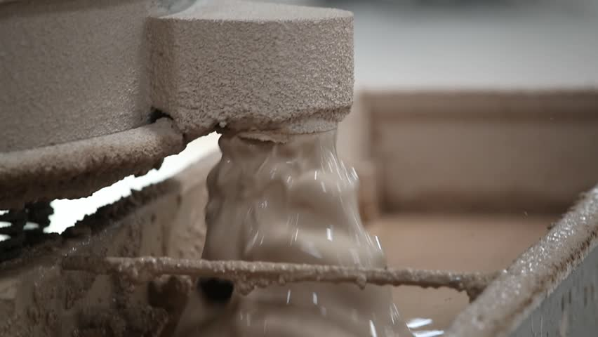 The basic ingredients that go into a finished tile are clays, sands and feldspars.