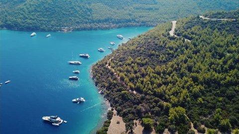 Bodrum Cennet Koyu Agean Beautiful Mediterranean Sea Mandarin Oriental Hotel