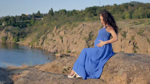 Shot of a pregnant woman