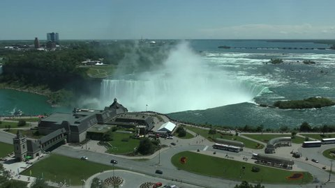 Niagara Falls, Ontario scenic view from Canadian side