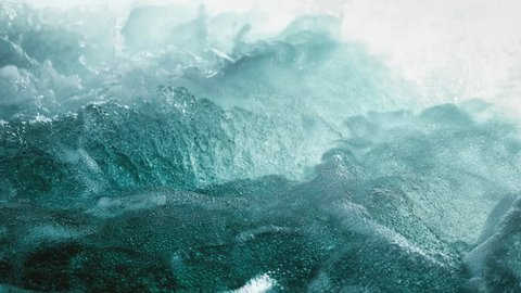 Cinemagraph of up close ocean wave
