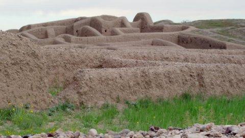 Paquimé Archeological site, N. Casas Grandes, Chihuahua. Mexico - Octuber 10 2018