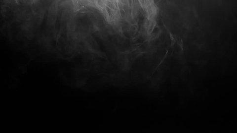 Falling Fog Cloud Smoky Atmosphere Footage