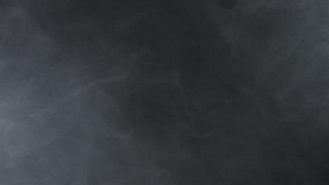 White vapor fog of electronic cigarette, 4k