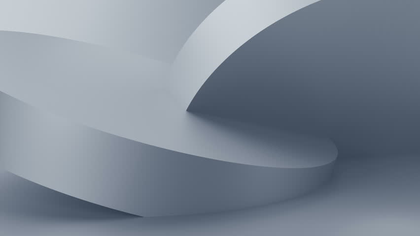 Abstract 3d rendering of rotating geometric shapes. Modern looped animation background. Seamless motion design. 4k UHD | Shutterstock HD Video #1018188187