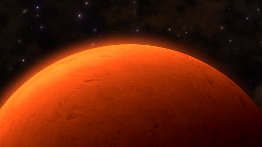 The Red Planet.