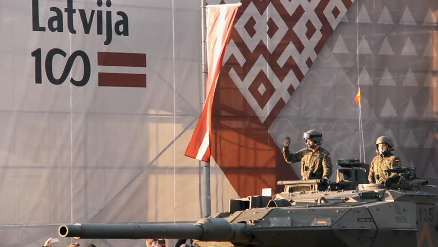 November 18, 2018  Nato Tanks Stock Footage Video (100% Royalty-free)  1019695747 | Shutterstock