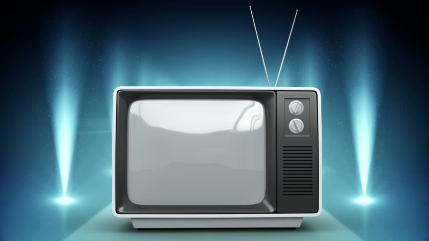 Digital composite of Television with flashing lights | Shutterstock HD Video #1019872147